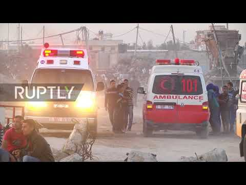 State of Palestine: Protesters clash with Israeli security forces on Gaza Strip