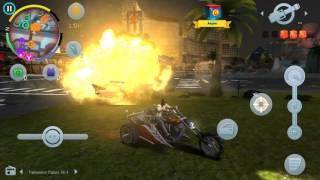Крутые мотоциклы из за газ Гангстер Вегас