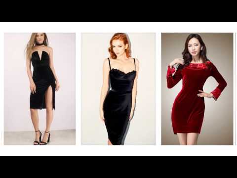 Top 100 Velvet evening dresses, velvet dresses for women