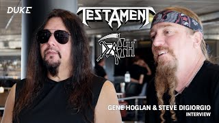 Gene Hoglan & Steve DiGiorgio (Testament / Death) Interview - MegaCruise 2019, San Diego - Duke TV