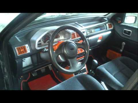 projet ford fiesta tuning youtube. Black Bedroom Furniture Sets. Home Design Ideas