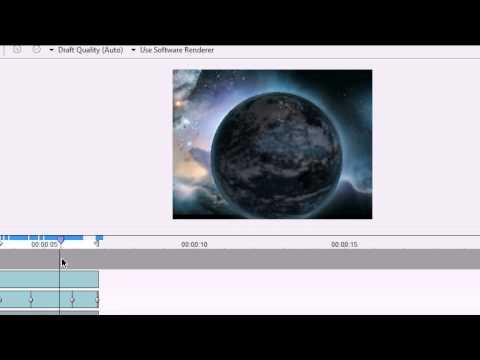 WAX Tutorial 3D animierter Planet