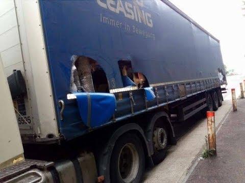 Kirabolták a kamionost