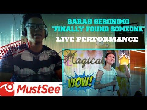 Sarah Geronimo, may birit na performance para kay John Lloyd Cruz! REACTION!!! (SARAH G LIVE!)
