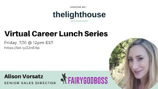 thelighthouse x Alison Vorsatz, Sales Director at FairyGodBoss