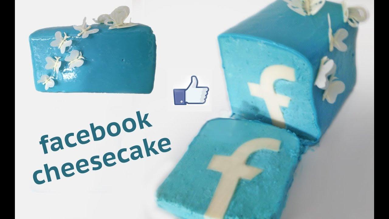 FACEBOOK cake HOW TO COOK THAT Facebook dessert Ann ...