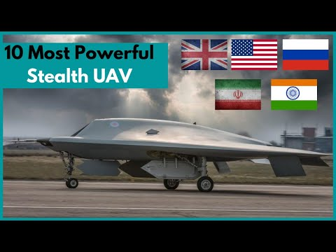 TOP 10 stealth drone In The World | Military Drone | drone weapons | UAV