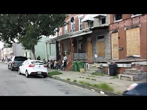 raw baltimore hood scenes 2017 youtube. Black Bedroom Furniture Sets. Home Design Ideas