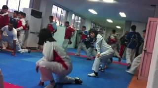 Taekwondo Training Camp in Korea 2011 [No Music]