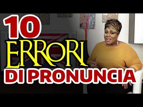I 10 errori di pronuncia più comuni Cantando in INGLESE - by Cheryl Porter vocal coach