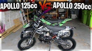 What Bike Is Better? Apollo 125cc Pit Bike Vs. Apollo 250cc Dirt Bike (Best Beginner Bike)