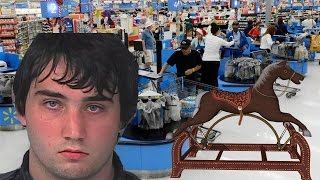 Florida Man Has Intercourse With A Toy Horse In Walmart