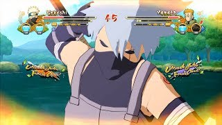 Naruto Ultimate Ninja Storm 3 Full Burst Anbu Kakashi PTS Kakashi Character Swap Gameplay (PC)