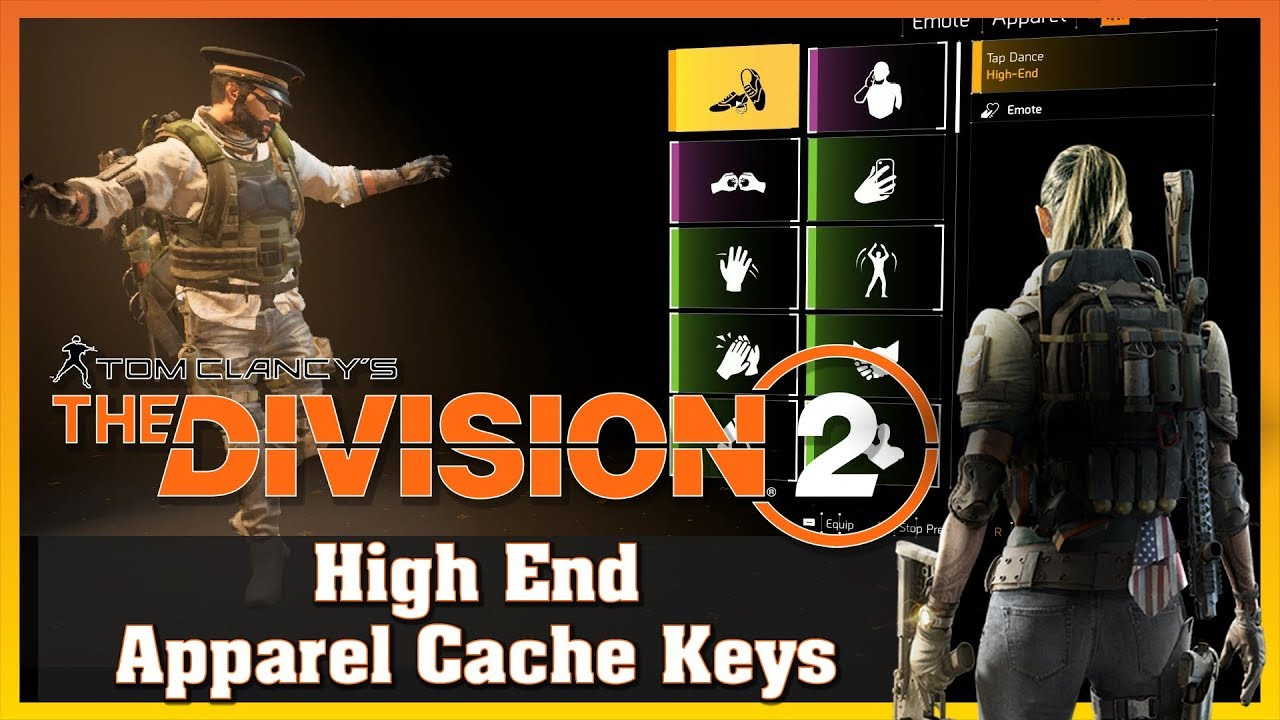 High End | Apparel Cache Keys| Items | THE DIVISION 2