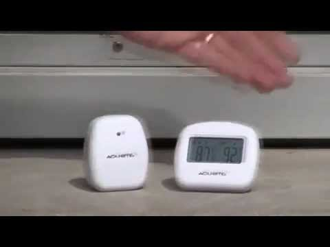 acurite indoor outdoor thermometer 00782 youtube rh youtube com
