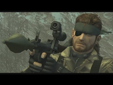 MGS3 - Every Weapon & Item
