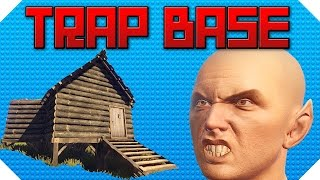 TRAPPING TOXIC KIDDIES - The Ladder Hatch of Death | Rust