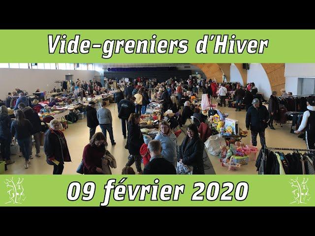 vide greniers hiver 2020 au centre des congrès Epinal