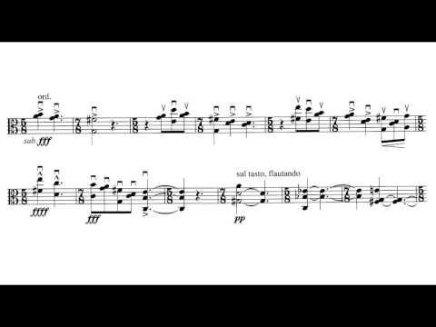 György Ligeti - Sonata For Solo Viola [4/5]