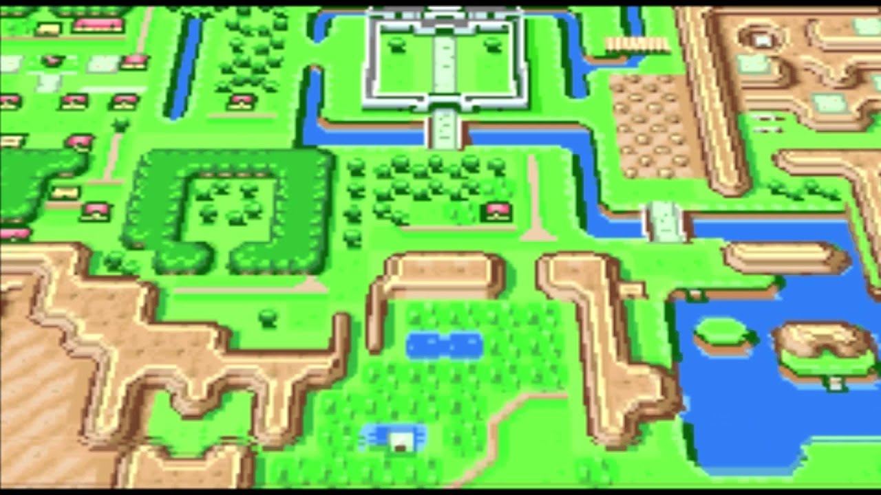 The Legend of Zelda A Link To The Past (GBA) Opening and Intro
