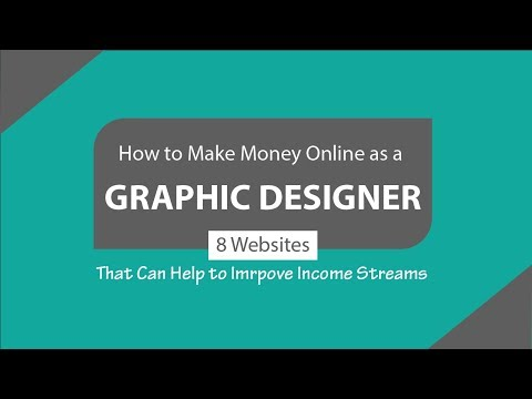 How to Make Money Online as a Graphic Designer - Freelance Graphic Design