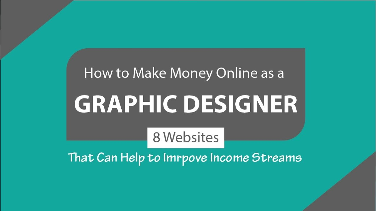 How To Make Money Online As A Graphic Designer Freelance Graphic