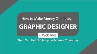 How to make money online as a graphic designer - freelance design