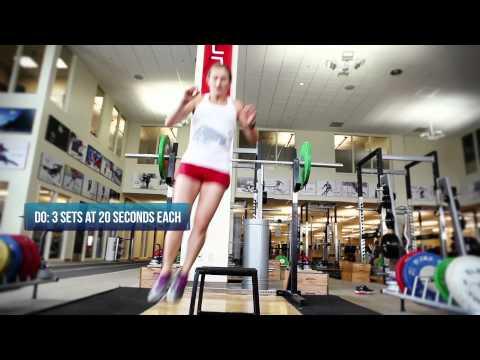 Preseason Ski Workout with US SKI Team Mogul Skier Heather McPhie