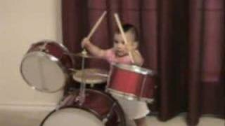 1-Year Old Drummer - Baby Drummer thumbnail