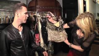 Inside Courtney Love's closet