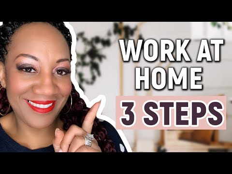 How To Work At Home And Earn Money Online