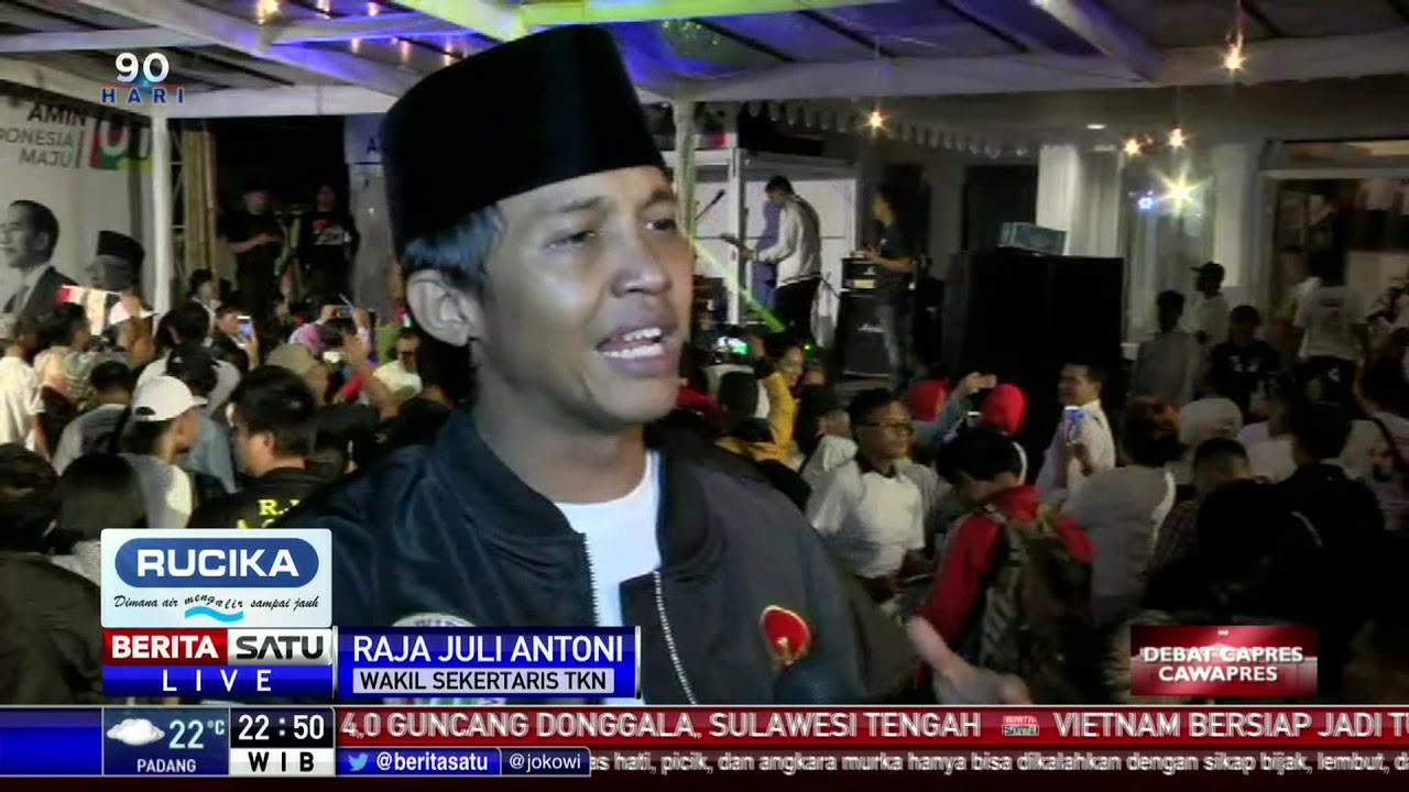 Tanggapan TKN Jokowi-Ma'ruf Terkait Debat Perdana Pilpres 2019