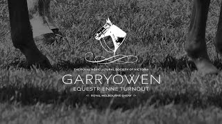 2015 Garryowen Equestrienne Turnout - 2015 Royal Melbourne Show Horses In Action