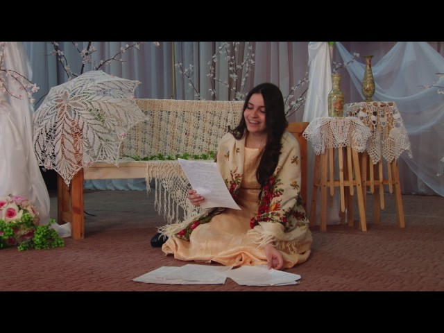 Изображение предпросмотра прочтения – ЛейлаИсаева читает произведение «Она сидела наполу…» Ф.И.Тютчева