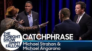 Catchphrase with Michael Strahan and Michael Angarano