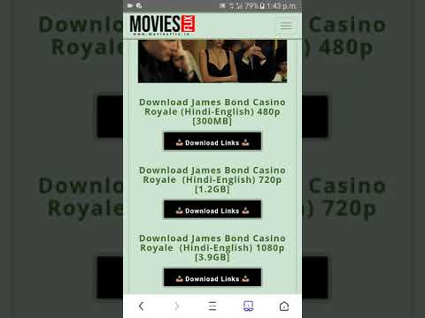Casino Royale  Hindi // Full Movie Download   // 400mb // Hd