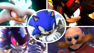 Sonic The Hedgehog (2006) - All Bosses + Cutscenes (S Rank)