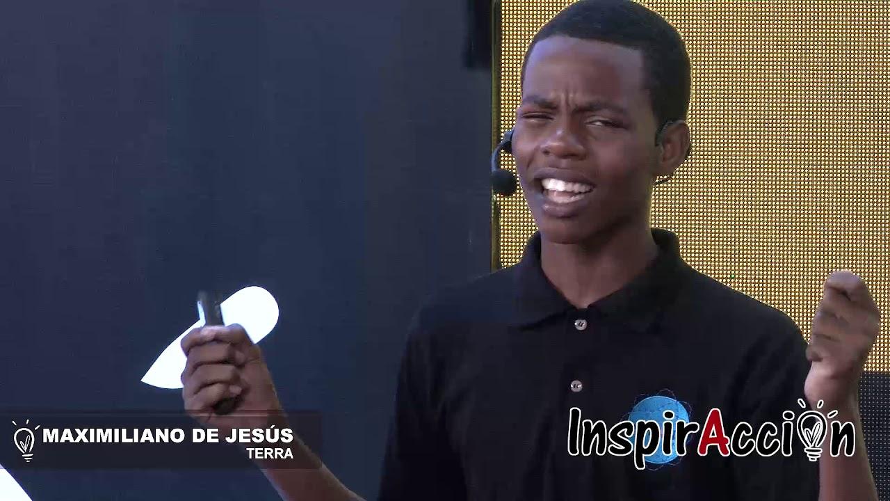 Discursos pronunciados por los finalistas de INSPIRACCION 2018 - MAXIMILIANO DE JESUS