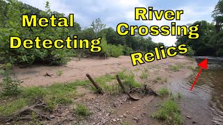 Metal Detecting River Crossing Relics : Bayonet And MOAR!