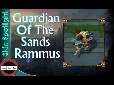 Guardian of the Sands Rammus Skin Spotlight - League of Legends Skin Review [HD]