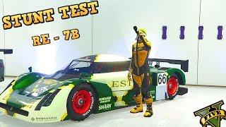 ANIS RE-7B - STUNT TEST - EPIC FAIL - New GTA 5 DLC Best fully upgraded Stunt Cars (Cunning Stunts)