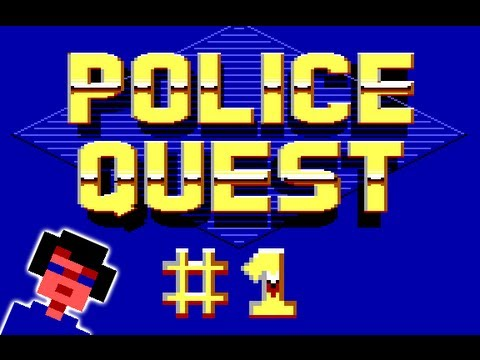 Time Wasters! Let's Play Police Quest #1: Vehicular Suicide