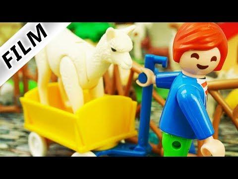 Playmobil Film Deutsch | ALPAKA AUS ZOO ENTFÜHRT - Neues Haustier Für Familie Vogel? Kinderfilm
