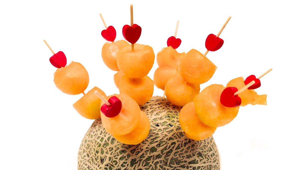 Comment r aliser et servir des billes de melon hd youtube - Comment faire grossir les melons ...