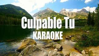 Culpable tu - Alta Consigna - Karaoke Acustico Piano