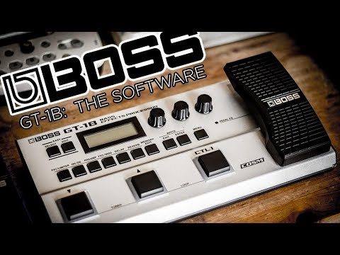 awesome bass multifx boss gt 1b first look at software. Black Bedroom Furniture Sets. Home Design Ideas