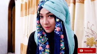 Easy Gorgeous Hijab style for Party | Pari ZaaD
