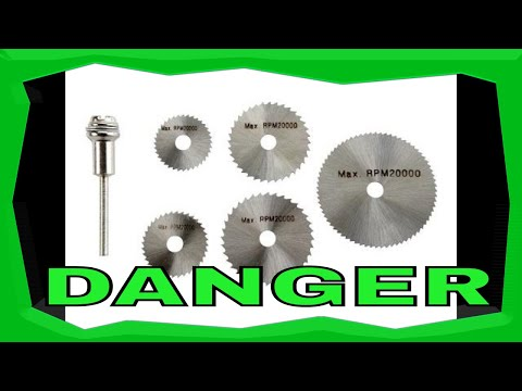 How To Harbour Freight Saw Blade Extremely Dangerous Rotary Tool Dremel