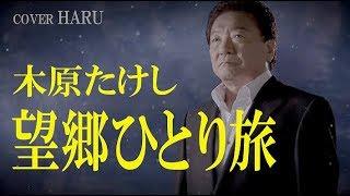 「望郷ひとり旅」木原たけし cover HARU