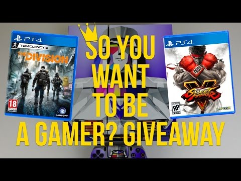 The Division and Street Fighter V Gaming Bundle GIVEAWAY! (PS4 and Xbox)